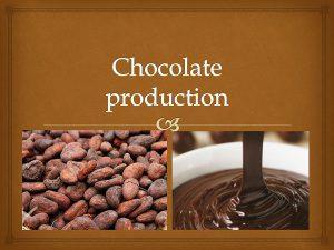 همکاری در فروش شکلات