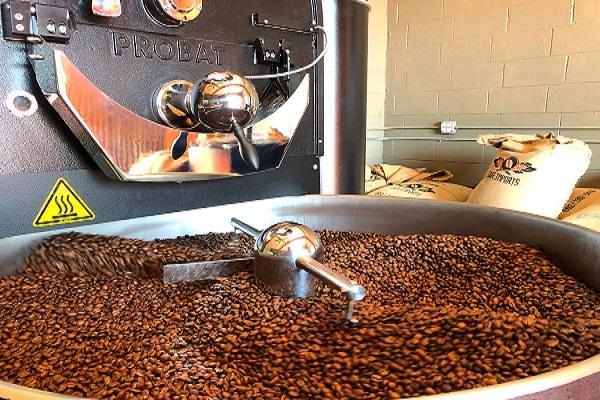 محل فروش دانه قهوه