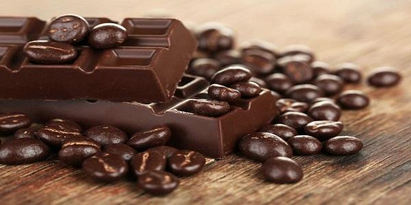 خرید شکلات تلخ همراه قهوه