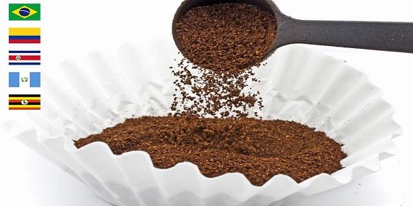 انواع پودر قهوه اسپرسو